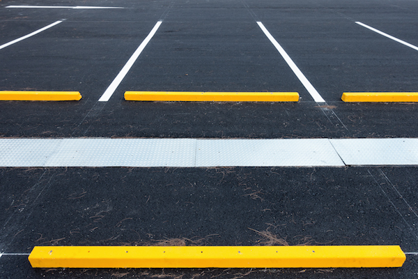 Empty parking lot, Public carpark.